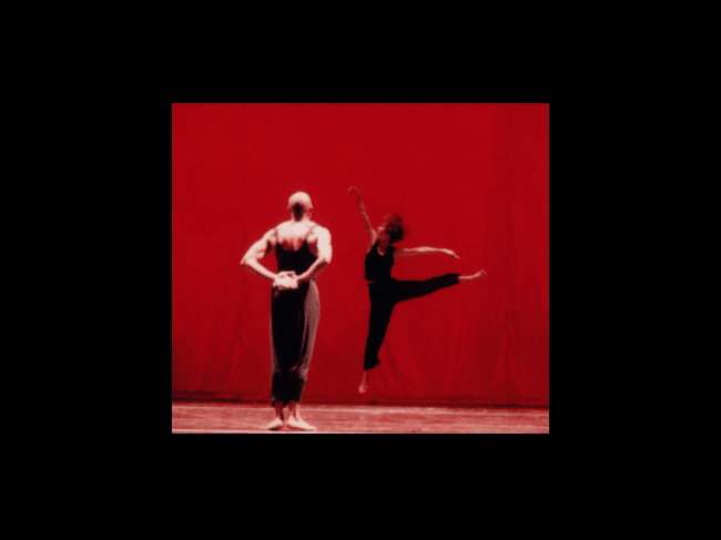 "Collaboration / ""Ursonate""; Bill T. Jones, Darla Villani Photo: Dance Umbrella"