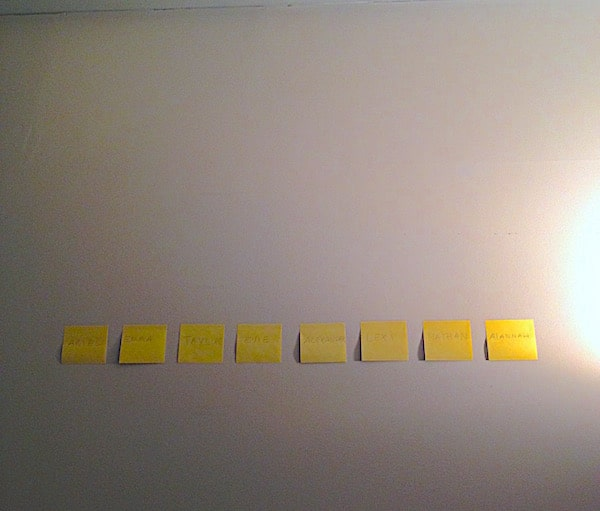 firstpostits_cast